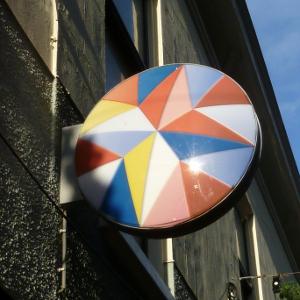 Le joli logo d'une banque Hollandaise