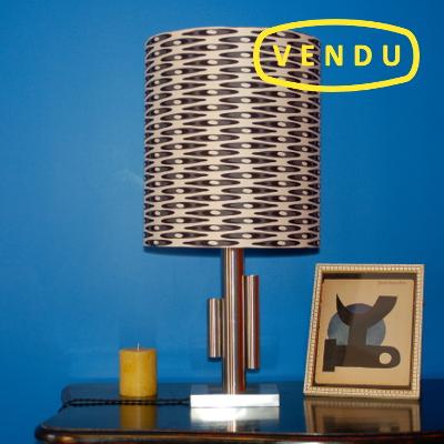 Lampe moderniste - atelier Volapük - pièce unique