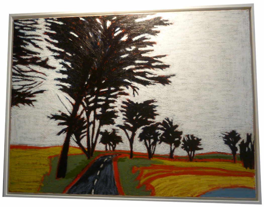 """Gordon HOPKINS (né en 1965) Artiste Américain - """"Landscape"""" 2015"""