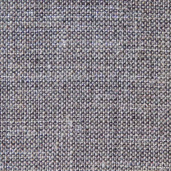 Zoom sur le lin Gris & lurex Argent